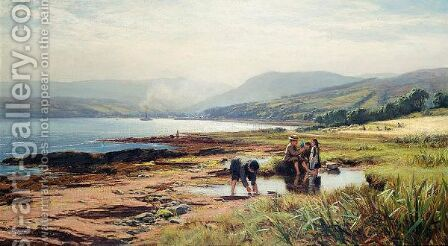 Arran by David Farquharson - Reproduction Oil Painting