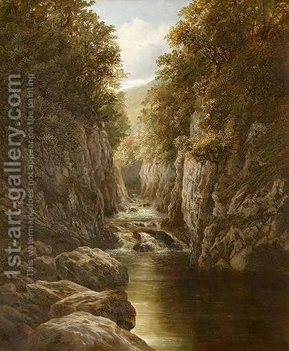 The Fairy Glen by Henry W. Henley - Reproduction Oil Painting
