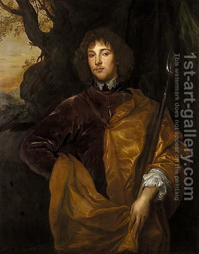 Portrait Of Philip, Lord Wharton (1613-1696) by (after) Dyck, Sir Anthony van - Reproduction Oil Painting