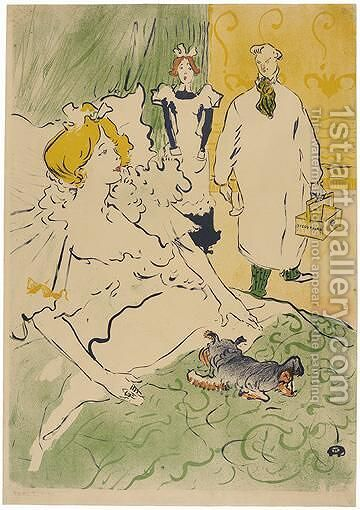 L'Artisan Moderne 2 by Toulouse-Lautrec - Reproduction Oil Painting