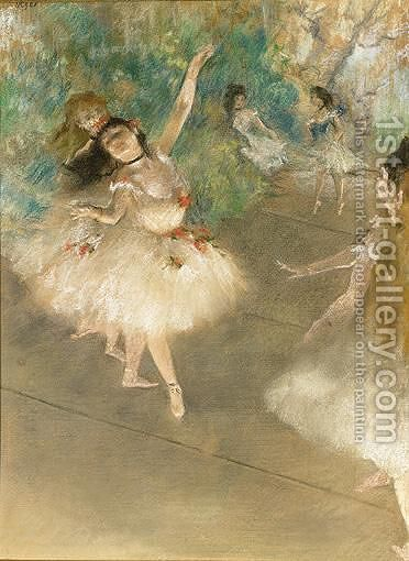Danseuses 2 by Edgar Degas - Reproduction Oil Painting