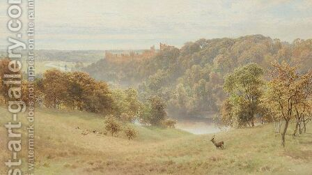 Arundel Castle by Harry Sutton Palmer - Reproduction Oil Painting