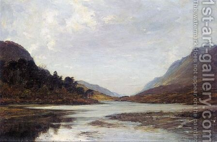 Loch Clair, Glen Torridon by Alexander Brownlie Docharty - Reproduction Oil Painting