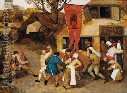 A Village Kermesse by (after) Pieter The Elder Bruegel - Reproduction Oil Painting