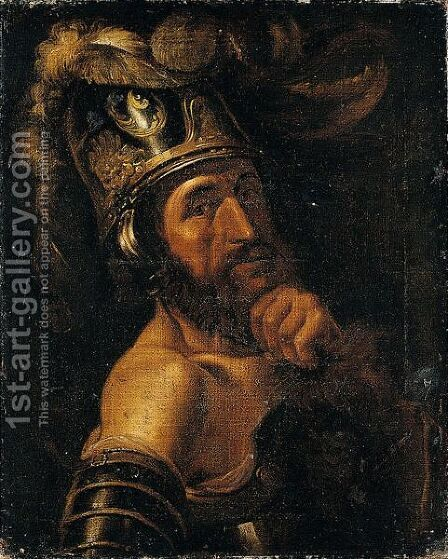 The Head Of Mars by (after) Jan Van Bijlert - Reproduction Oil Painting