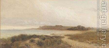 Coastal Scene by Harry Hine - Reproduction Oil Painting