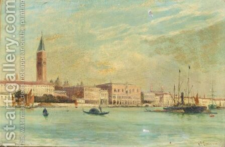 The Doge's Palace by Charles James Lauder - Reproduction Oil Painting
