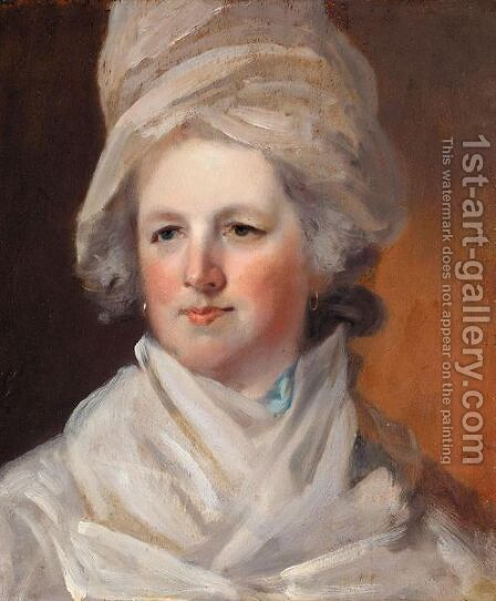 Portrait Of A Lady by Henry Walton - Reproduction Oil Painting