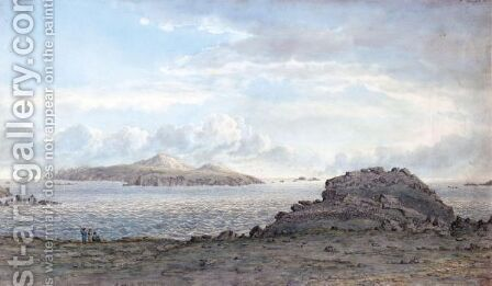 St David's Head, Pembrokeshire, Wales by (after) John Glover - Reproduction Oil Painting