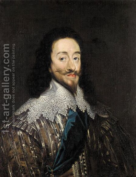 Portrait of Charles I by (after) Sir Peter Lely - Reproduction Oil Painting