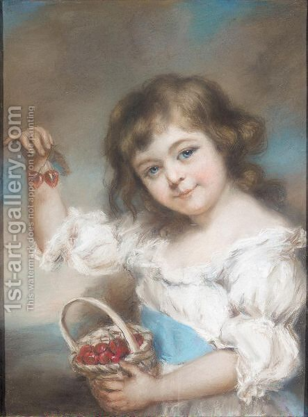 Pastel by (after) Russell, John - Reproduction Oil Painting