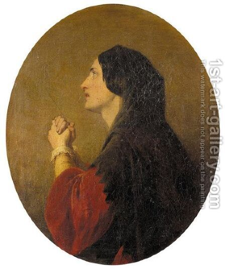 Supplication by (after) Frith, William Powell - Reproduction Oil Painting