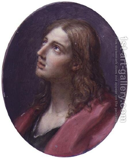 Head Of Saint John by Benedetto Luti - Reproduction Oil Painting