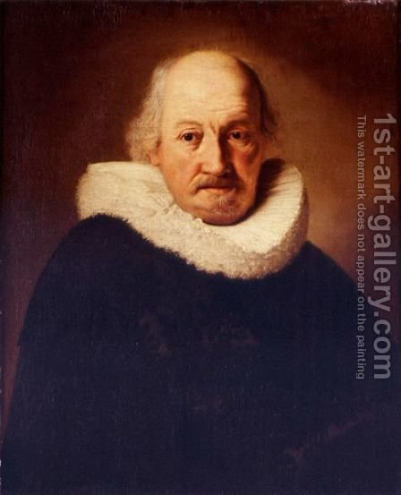 Portrait Of An Old Man by (after) Harmenszoon Van Rijn Rembrandt - Reproduction Oil Painting