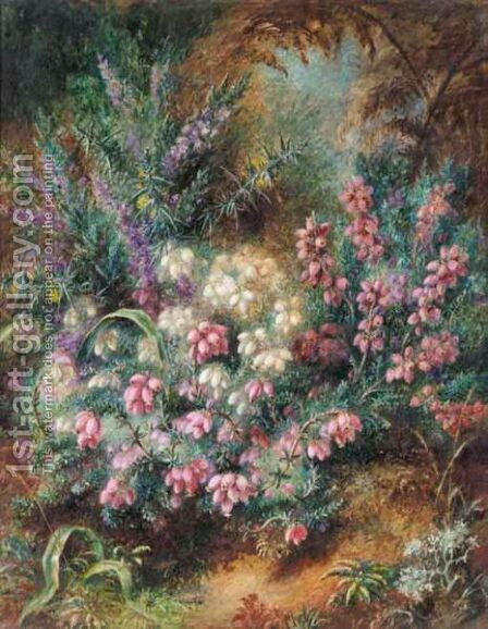 Heather In Flower by Albert Durer Lucas - Reproduction Oil Painting