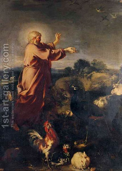 God Naming The Animals by (after) Antonio Maria Vassallo - Reproduction Oil Painting