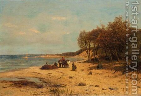 The Island Of Rugen by Carl Irmer - Reproduction Oil Painting