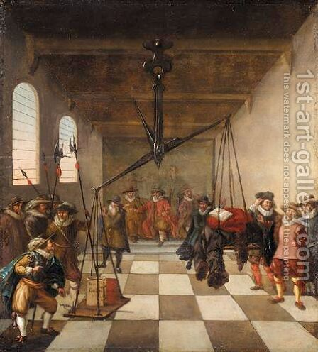 An Allegory Of The Reform Of The Dutch Church by Dutch School - Reproduction Oil Painting
