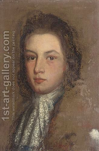 Portrait Of A Gentleman by (after) Kneller, Sir Godfrey - Reproduction Oil Painting