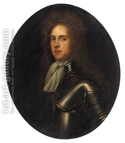 Portrait Of Major General William Tatton (1659-1736) by (after) John Riley - Reproduction Oil Painting