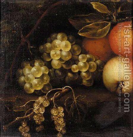 Still Life Of Fruit by (after) William Sartorius - Reproduction Oil Painting