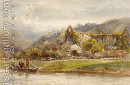 Tintern Abbey by James Stephen Gresley - Reproduction Oil Painting