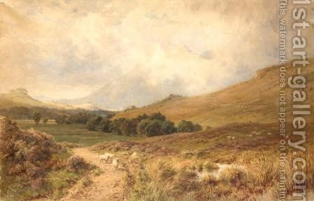 Ben Cruachan, Dalmally by Harry Sutton Palmer - Reproduction Oil Painting
