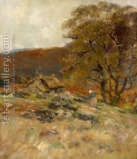 Autumn, West Highlands by David Fulton - Reproduction Oil Painting