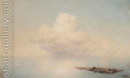 The Survivor by Ivan Konstantinovich Aivazovsky - Reproduction Oil Painting