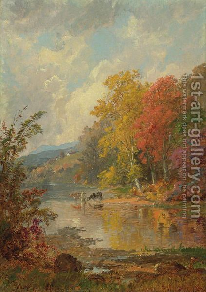 Autumn 2 by Jasper Francis Cropsey - Reproduction Oil Painting