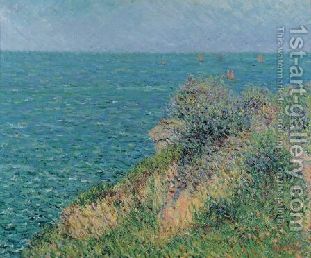 La Mer A Pornic by Gustave Loiseau - Reproduction Oil Painting
