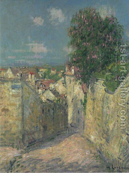 Le Marronnier De La Sous Prefecture, Pontoise by Gustave Loiseau - Reproduction Oil Painting