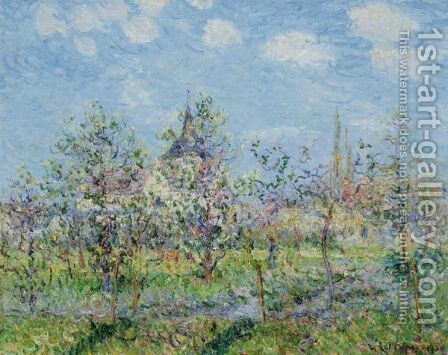 Verger En Fleur, Printemps by Gustave Loiseau - Reproduction Oil Painting