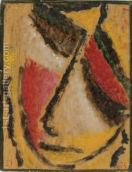Meditation by Alexei Jawlensky - Reproduction Oil Painting