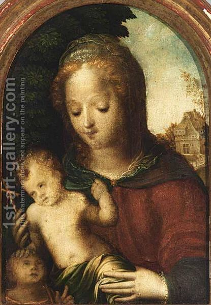 Madonna And Child by (after) Domenico Beccafumi - Reproduction Oil Painting