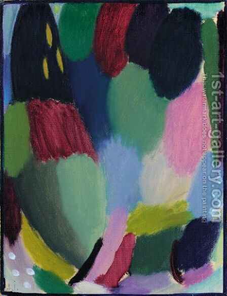 Variation 2 by Alexei Jawlensky - Reproduction Oil Painting