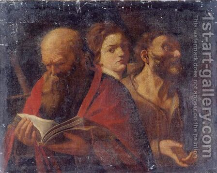 Three Ages Of Man by (after) Andrea Sacchi - Reproduction Oil Painting