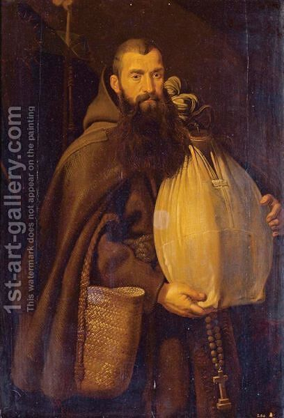 Saint Felix Of Cantalice by (after) Sir Peter Paul Rubens - Reproduction Oil Painting
