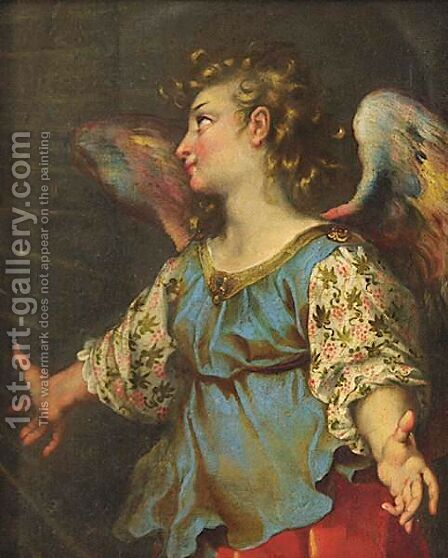 An Angel by (after) Federico Fiori Barocci - Reproduction Oil Painting