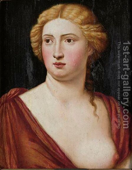 Sybill by Bernardino Licinio - Reproduction Oil Painting