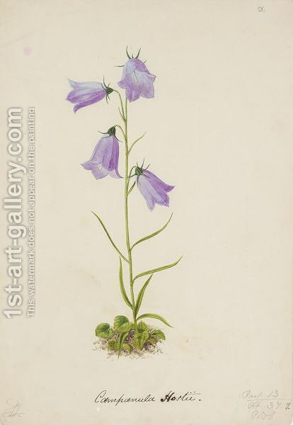 Campanula by Alexander Francis Lydon - Reproduction Oil Painting