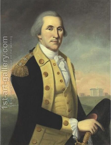 George Washington At Princeton by Charles Peale Polk - Reproduction Oil Painting