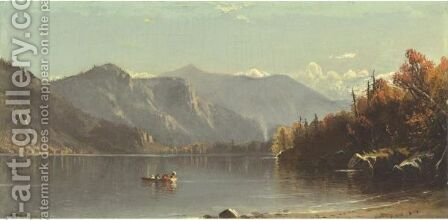 Outing On The Lake by Alfred Thompson Bricher - Reproduction Oil Painting