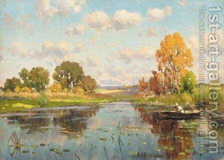 The Fisherman by Aleksandr Vladimirovich Makovsky - Reproduction Oil Painting