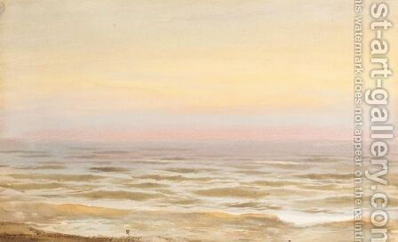 Seascape by Albert Nikolaevich Benois - Reproduction Oil Painting