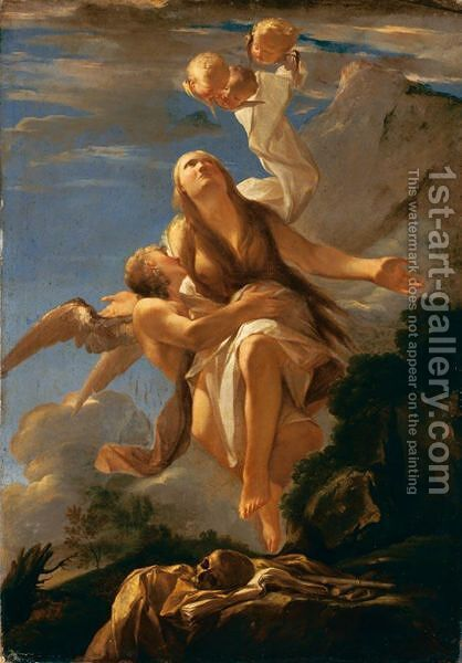 Estasi Di Maria Maddalena by Italian School - Reproduction Oil Painting