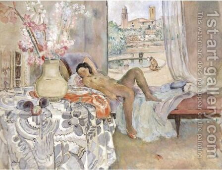 La Sieste by Henri Lebasque - Reproduction Oil Painting