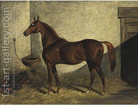 Mortimer by Henry Stull - Reproduction Oil Painting