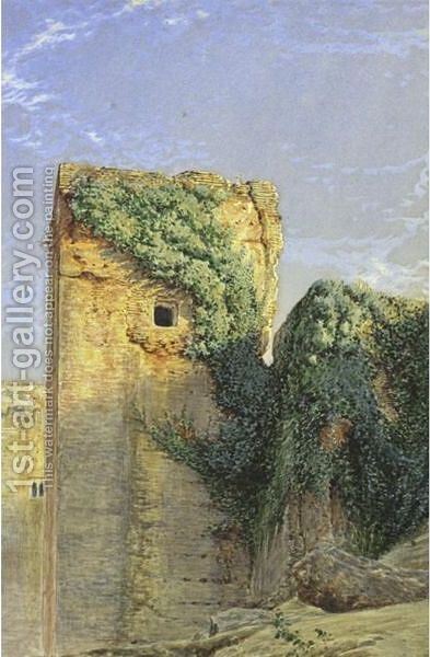 Views Of Granada  A Pair Of Paintings by Henry Stanier - Reproduction Oil Painting