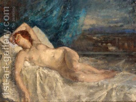 The Dream by Henry Tonks - Reproduction Oil Painting